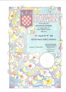 Red Nikole Šubića Zrinskog